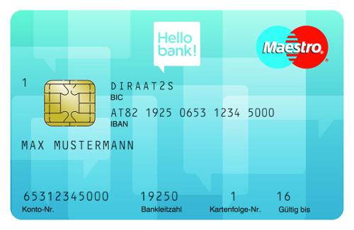 Kostenloses AT-IBAN Girokonto+ Gratis Visa/Mastercard!